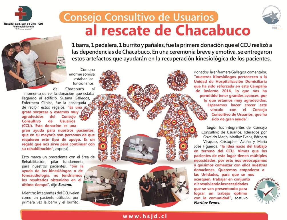 afiche Donación CCU
